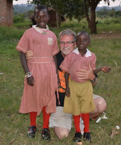 Richard and Annet Uganda sponsored child